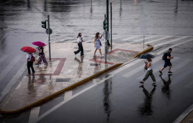 Καιρός: Βροχές στην Αττική