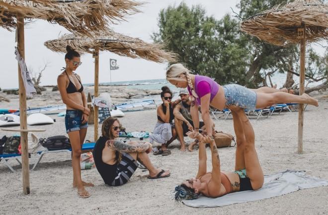 Life is a beach Γιόγκα