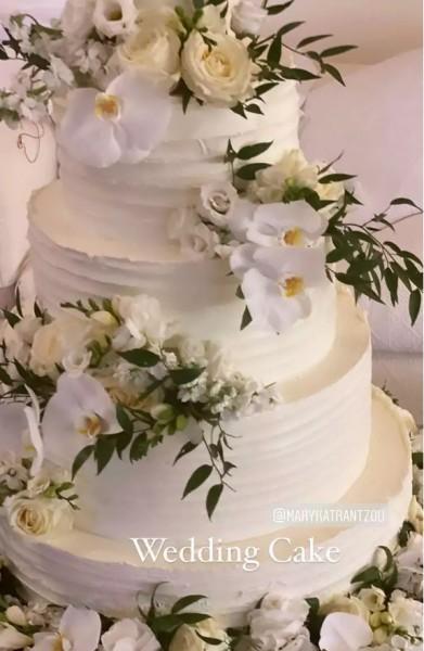Μαίρη Κατράντζου σπετσες γάμος