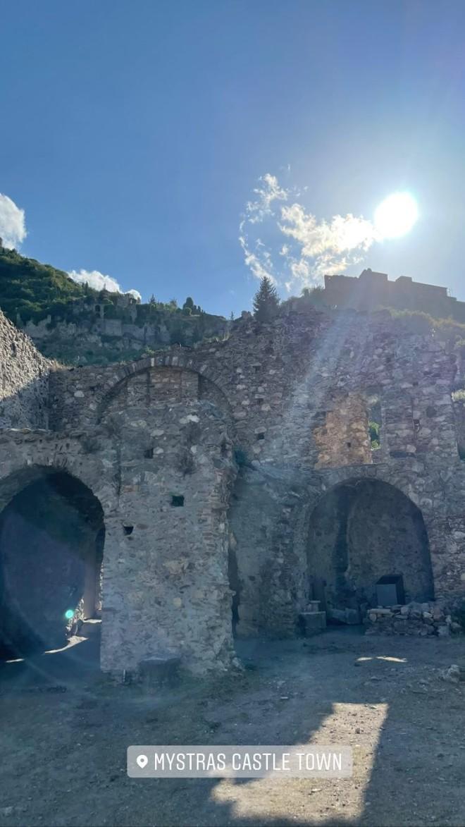 Αθηνά Οικονομάκου Μυστράς σπαρτη καστρο