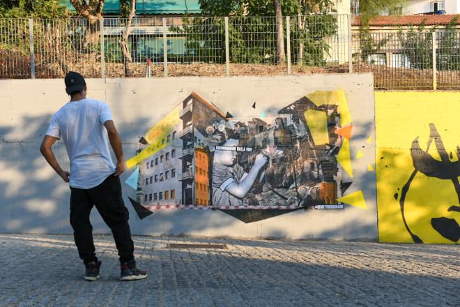 Demetrio Di Grado graffiti Αθήνα