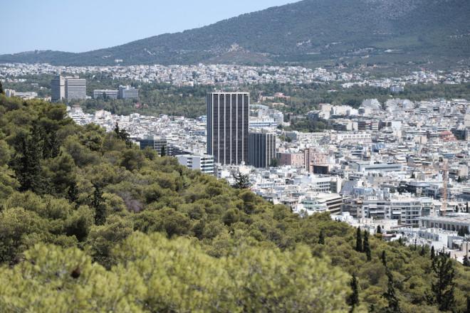 εικόνα των κατοικιών της Αθήνας
