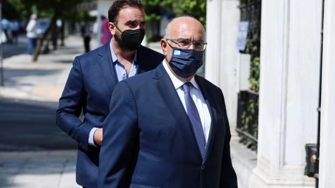 Ο νέος υφυπουργός Μεταφορών και Υποδομών,Μιχάλης Παπαδόπουλος -φωτογραφία Eurokinissi