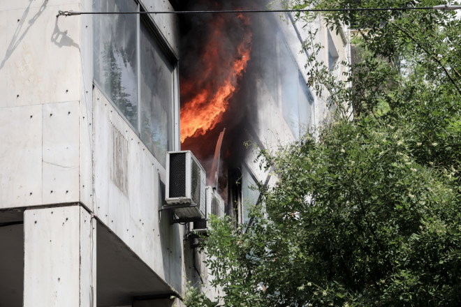 φωτιά τώρα Αθήνα