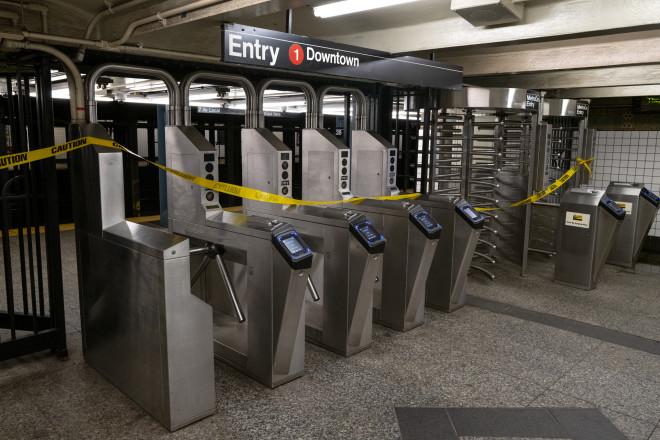 Πλημμύρισε το μετρό της Νέας Υόρκης
