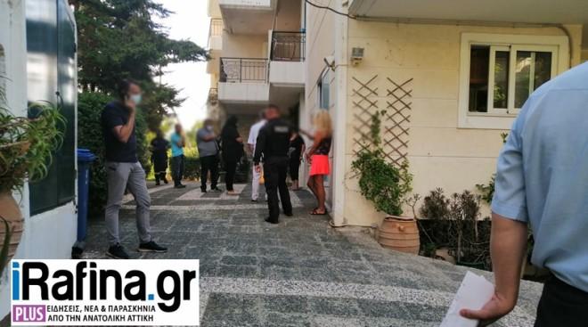 Η πολυκατοικία όπου βρέθηκε κρεμασμένος 44χρονος άνδρας- πηγή irafina