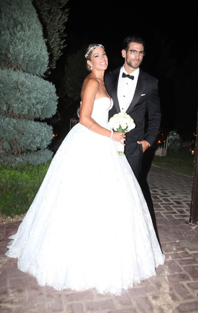 Παντρεύτηκαν Ελένη Χατζίδου και Ετεοκλής Παύλου