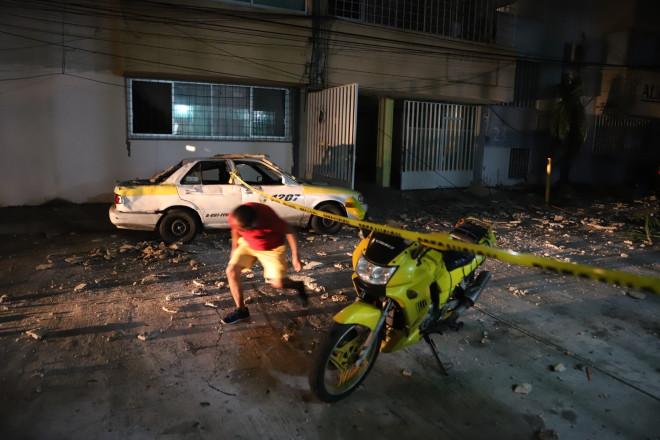 ζημιές σεισμός Μεξικό