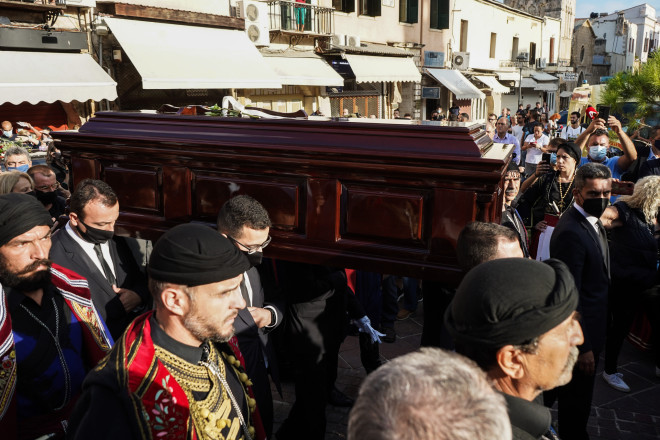 κηδεία Θεοδωράκης