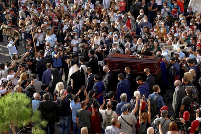κηδεία Θεοδωράκη