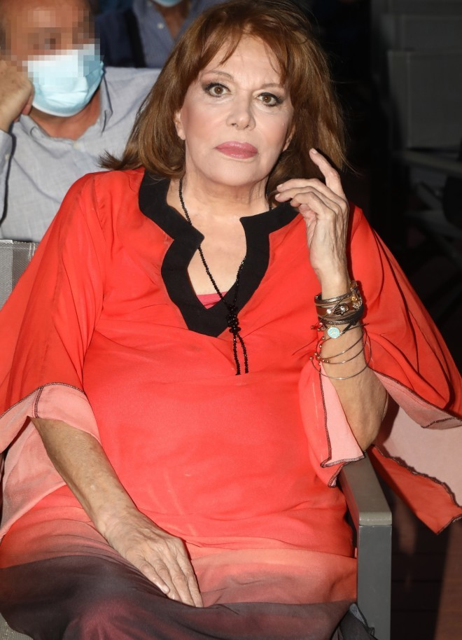 Πριν από λίγο καιρό η Μαίρη Χρονοπούλου είδε τον Τάκη Ζαχαράτο στο Θέατρο Άλσος /Φωτογραφία NDP Photo Agency