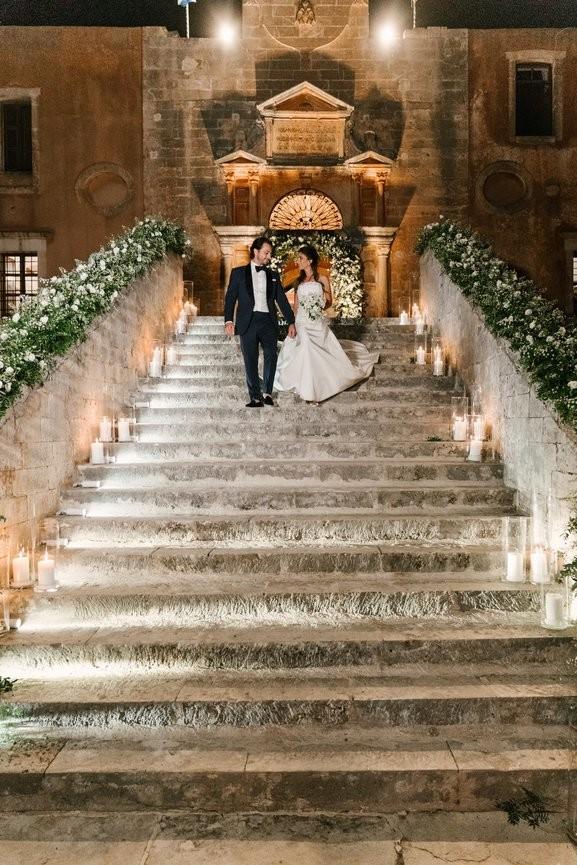 λαμπερός γάμος Κρήτη