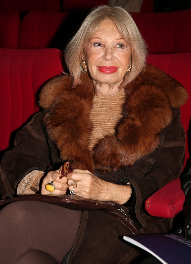 Η Ρίκα Διαλυνά είναι μια από τις πιο καλοντυμένες κυρίες του θεάτρου /Φωτογραφία NDP Photo Agency