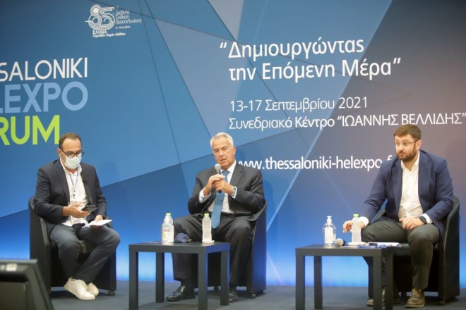 Μάκης Βορίδης Κώστας Ζαχαριάδης forum HELLEXPO