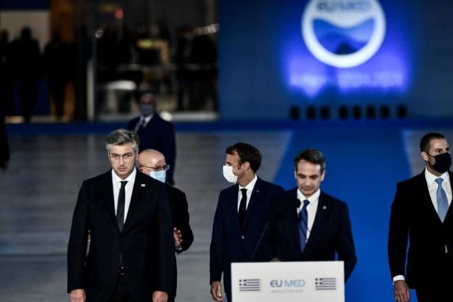 Οι ηγέτες της EUMED 9 στη σύνοδο στην Αθήνα