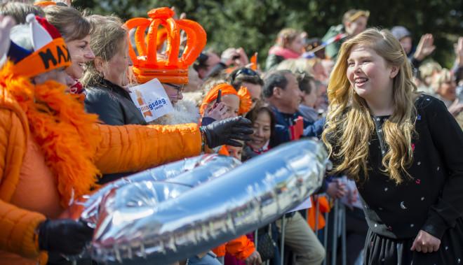 Πριγκίπισσα Αικατερίνη Αμαλία, Ολλανδία
