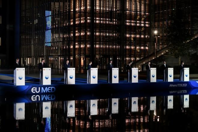 Οι δηλώσεις Μακρόν και άλλων ηγετών μετά τη σύνοδο EUMED 9 στην Αθήνα