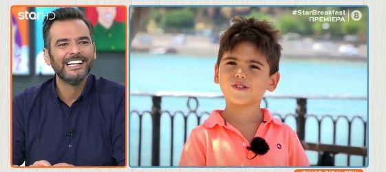 Ο γιος του Γιώργου Καρτελιά μίλησε για τον μπαμπά του!