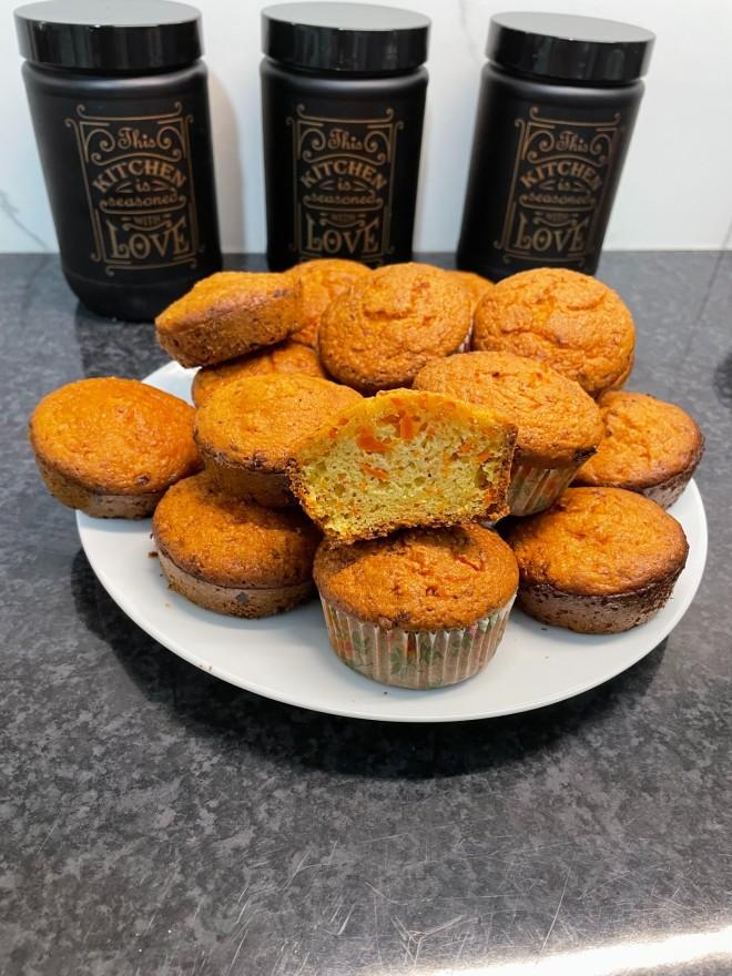 Τα υγιεινά μάφινς καρότου που έφτιαξε για το star.gr ηΗλιαλένα Λυσικάτου, Κλινική Διαιτολόγος- Διατροφολόγος