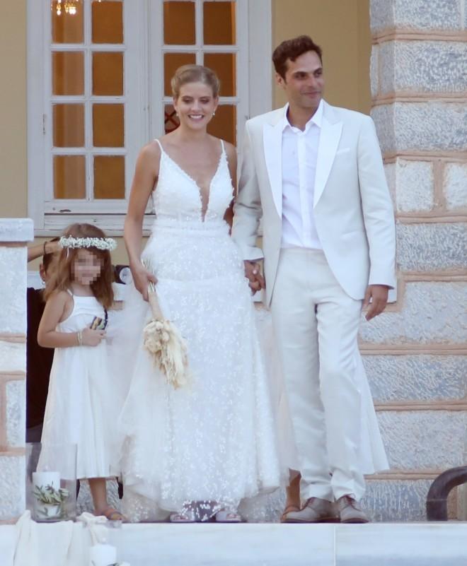 Ο γάμος της Δανάης Μιχαλάκη και του Γιώργου Παπαγεωργίου