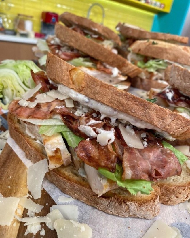 παιδικό σνακ σάντουιτς