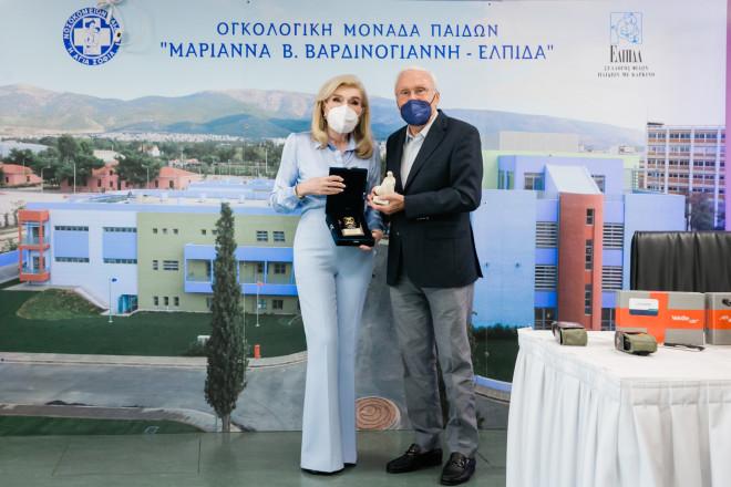 Μαριάννα Β. Βαρδινογιάννη, Γιάννης Σπανολιός