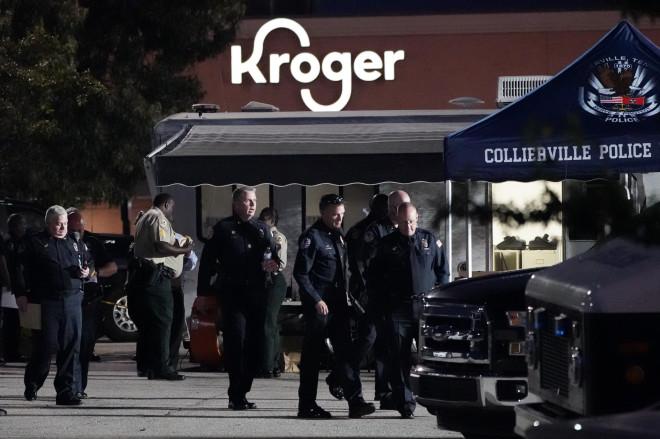 Το σούπερ μάρκετ στο Τενεσί όπου σημειώθηκαν πυροβολισμοί - φωτογραφία ΑΡ