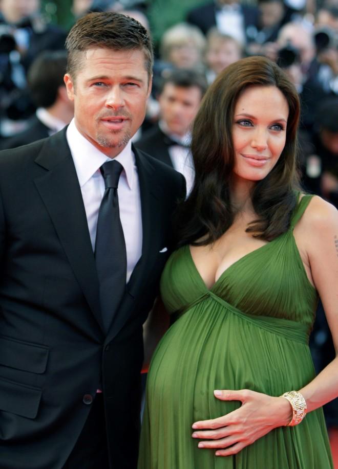 Brad Pitt Angelina Jolie Κάννες