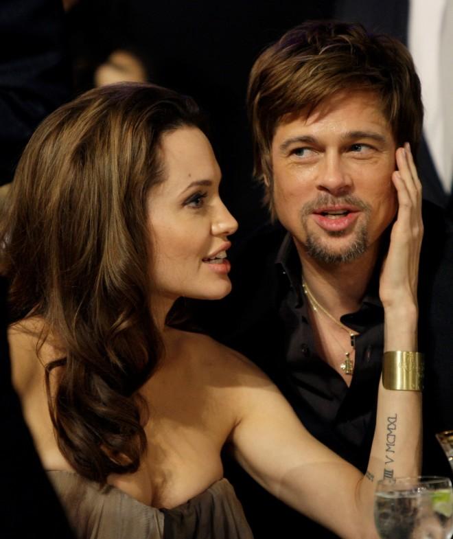 Angelina Jolie Brad Pitt 14th Annual Screen Actors Guild Awards