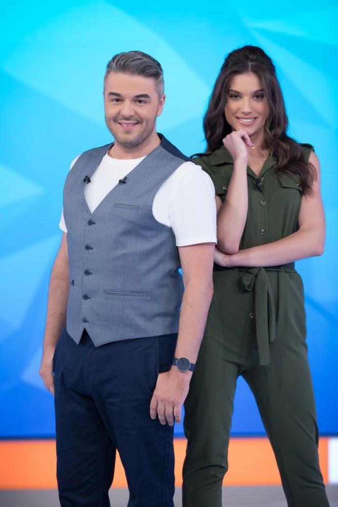 Πέτρος Πολυχρονίδης και τη Νατάσα Κουβελά