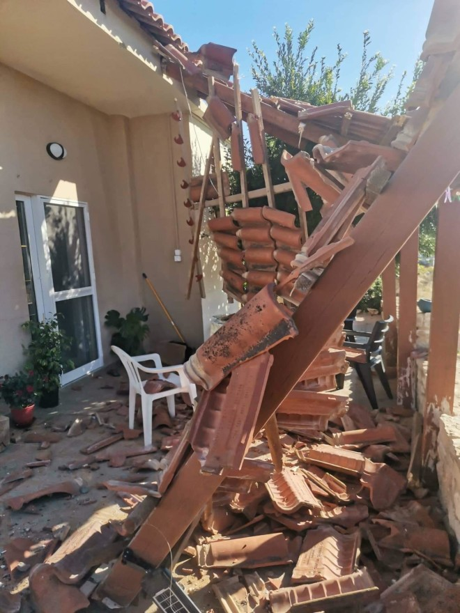 ζημιές σπίτια σεισμός