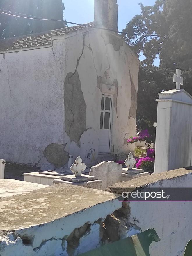 εκκλησία ζημιά