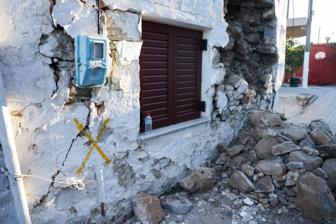 σπίτι σεισμός