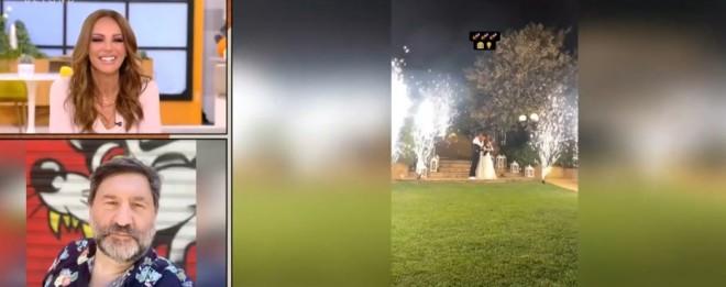 Ο chef Γ. Μπουροδήμος για τον γάμο του φίλου του Άκη Πετρετζίκη