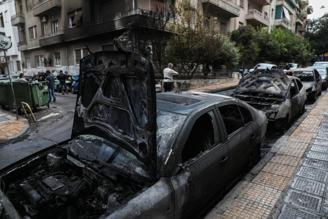 φωτιά αυτοκίνητα