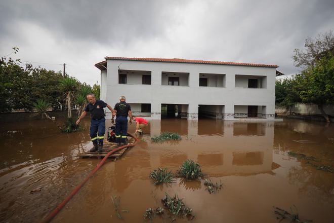 Πλημμμύρισαν τα πάντα στην Βόρεια Εύβοια/EUROKINISSI