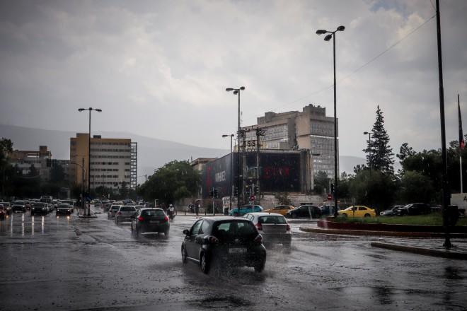 Βροχές αναμένονται και στην Αττική/EUROKINISSI