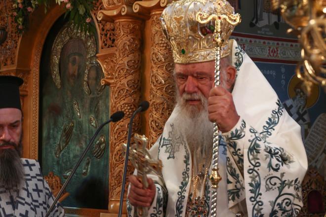 Ο Αρχιεπίσκοπος Ιερώνυμος/EUROKINISSI