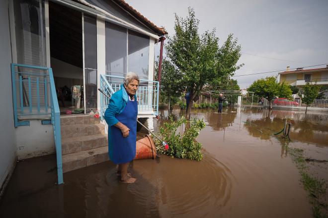 πλημμύρες Βόρεια Εύβοια