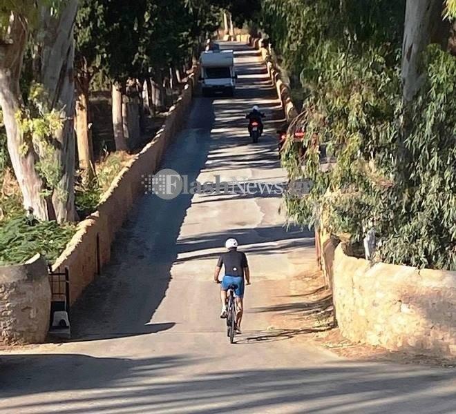 Μητσοτάκης ποδήλατο