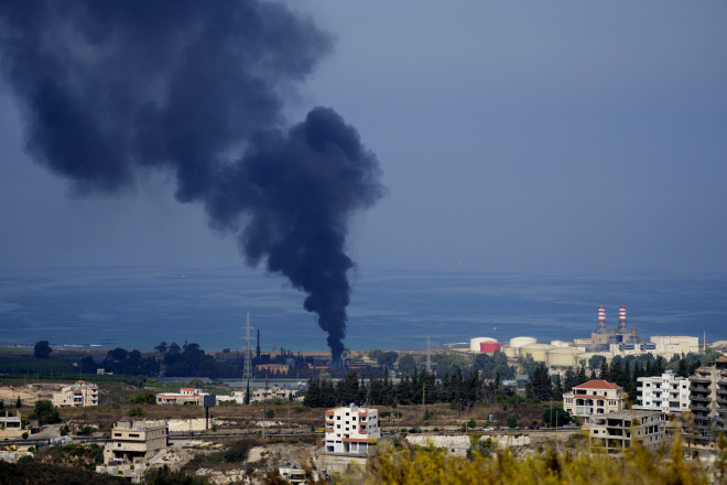 Φωτιά Λίβανος/ AP