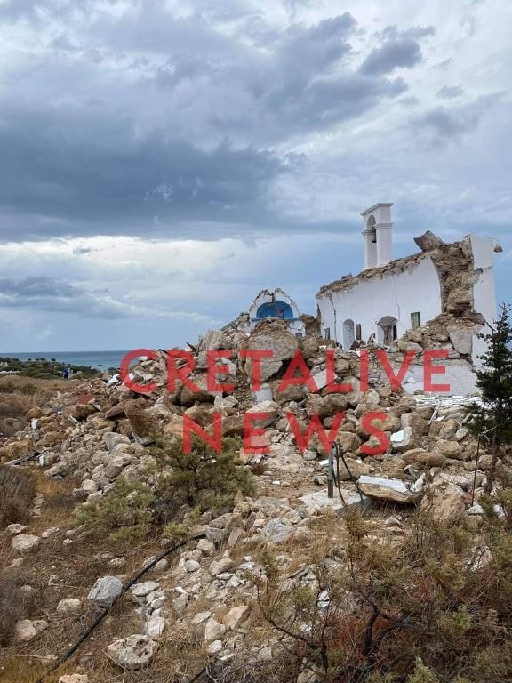 σεισμός Κρήτη ζημιές