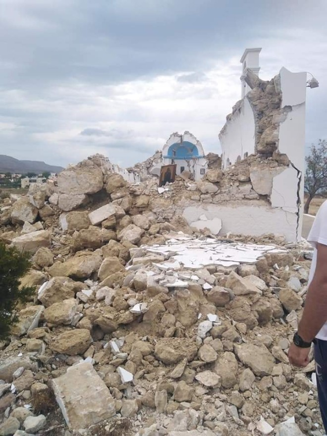 σεισμός Κρήτη Λασίθι
