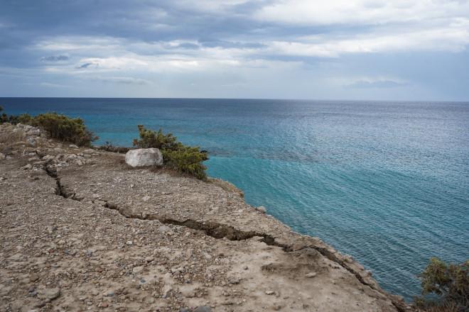 Καταστροφές από τον σεισμό 6,3 Ρίχτερ στην Κρήτη-φωτογραφία Eurokinissi