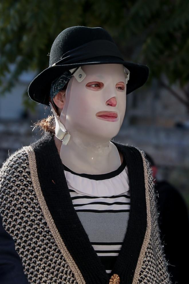 Η Ιωάννα Παλιοσπύρου κατά την είσοδό της στα δικαστήρια στις 710/21- Eurokinissi