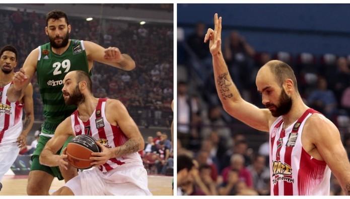 Ολυμπιακός-Παναθηναϊκός 63-58