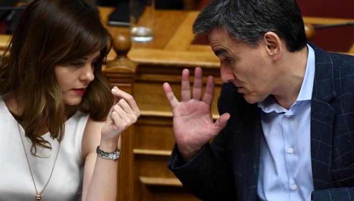 Tους πρέσβεις των κρατών-μελών της ευρωζώνης ενημέρωσαν Τσακαλώτος και Αχτσιόγλου