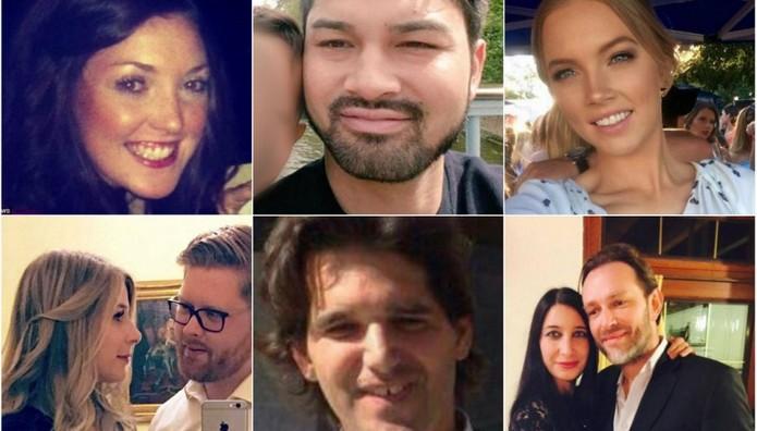 AYTA είναι τα ΘΥΜΑΤΑ και οι ΑΓΝΟΟΥΜΕΝΟΙ μετά την σφαγή στο Λονδίνο