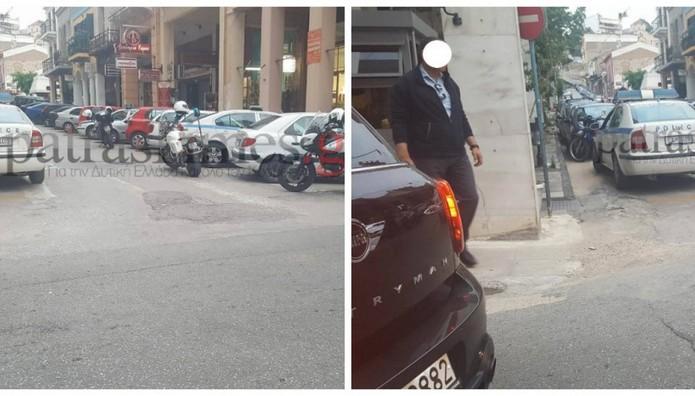 ΠΑΝΙΚΟΣ στην Πάτρα: Άνδρας περπατούσε στο δρόμο κραδαίνοντας μαχαίρι