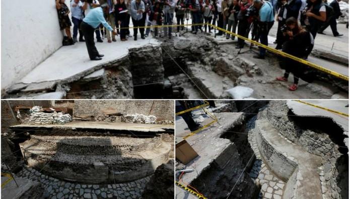 Αρχαιολογική ανακάλυψη ΘΗΣΑΥΡΟΣ στο Μεξικό: Στο φως τεράστιος ναός και γήπεδο των Αζτέκων (ΦΩΤΟ)